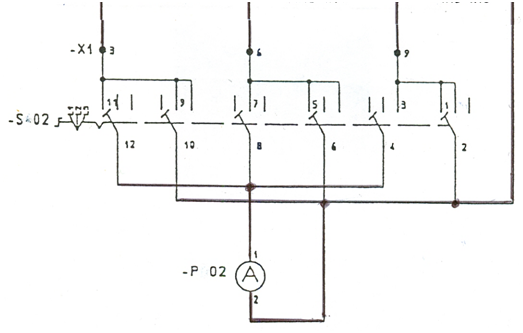 Practical Solving Problems for Electrical Schemes Using IEC ... on compaq power supply pinout diagram, iec wiring symbols, iec frame, iec c14 wiring, latching relay circuit diagram, iec motor starter schematics, 609 ab motor starter diagram, iec cable diagram, iec standard symbols drum heater, magnetic contactor diagram, iec motor starters diagram, iec power, iec plug, iec symbols pdf,